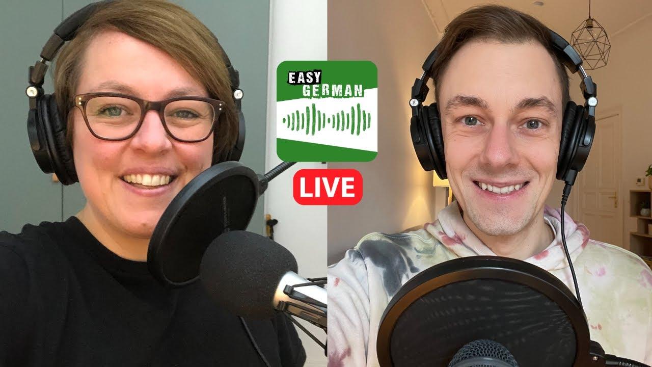 Tatütata, die Feuerwehr ist da! | Easy German Podcast 112 LIVE