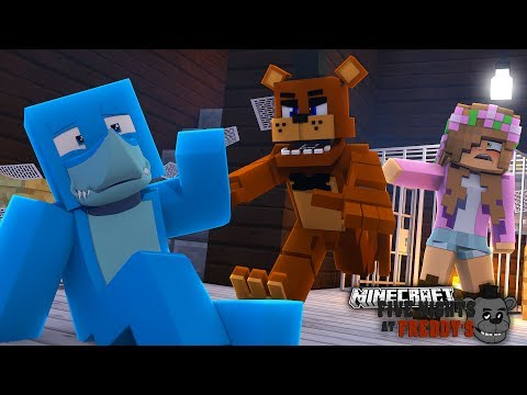 LITTLE KELLY SWOOPS IN TO SAVE SHARKY - Minecraft FNAF PRISON