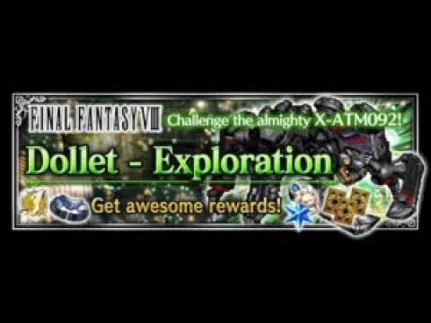 FFBE Dollet - Exploration (HARD) | Easy Budget OTK All Missions with 7* Olive