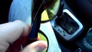 Очечник в VW Tiguan, подбор очков