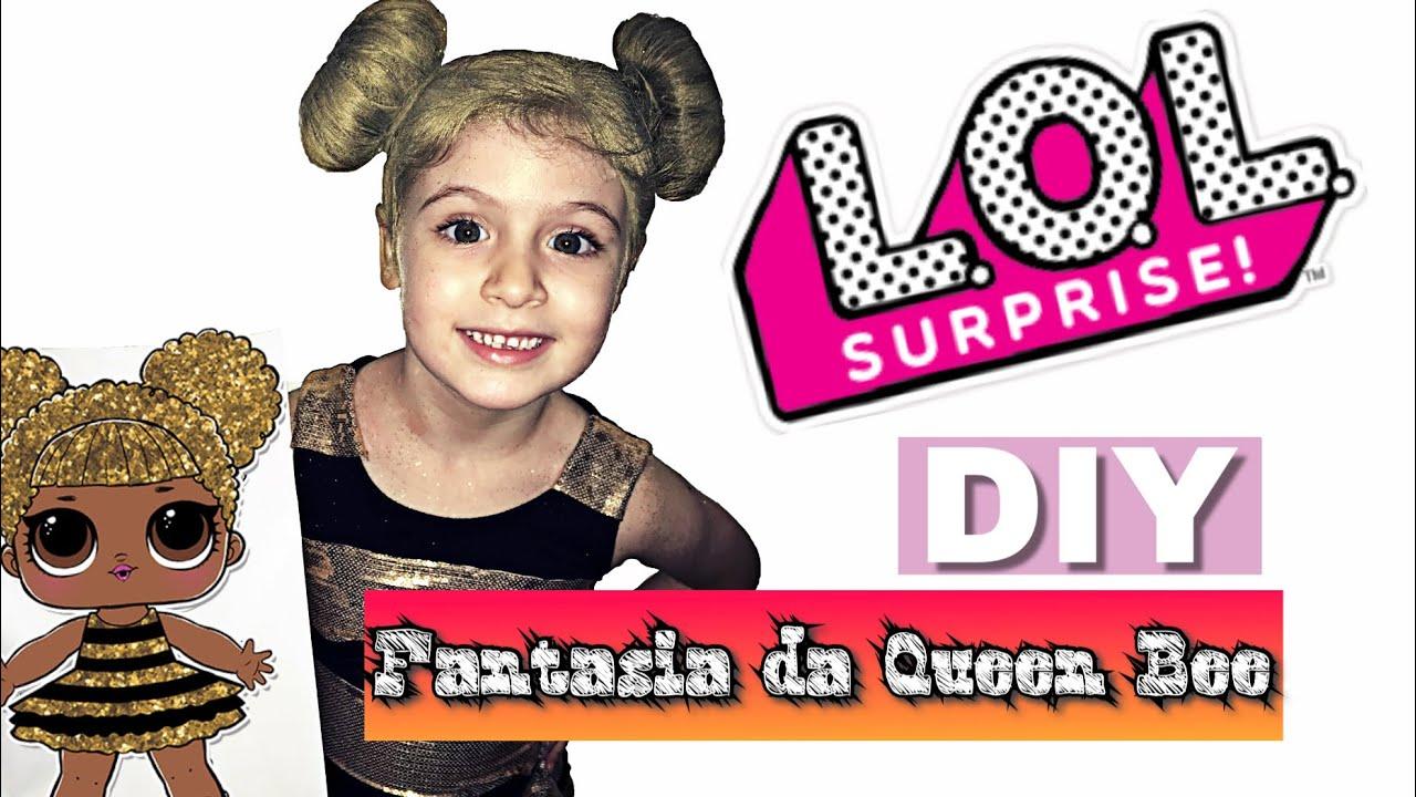 Diy Fantasia Da Lol Surprise Queen Bee Lol Rara Faca Voce Mesmo A Fantasia Do Carnaval Youtube