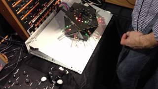 Jomox Akasha synth prototype at NAMM
