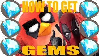 How to get Gems and Coins - Angry Birds Evolution