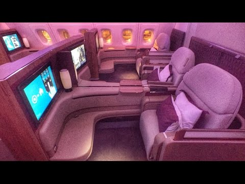 Qatar Airways A380 First Class Doha - Bangkok