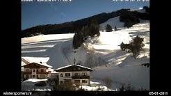 Hochkönig Dienten webcam time lapse 2010-2011
