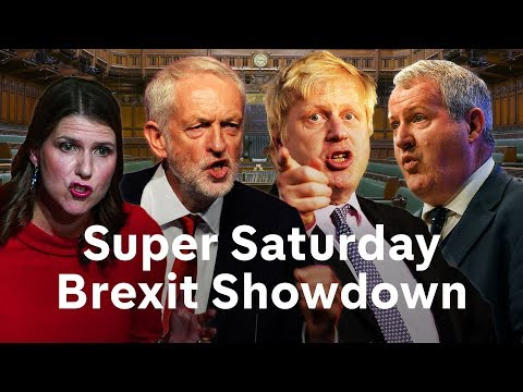 Brexit debate LIVE: Super Saturday in Parliament