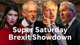 Brexit debate LIVE: Super Saturday in Parliament