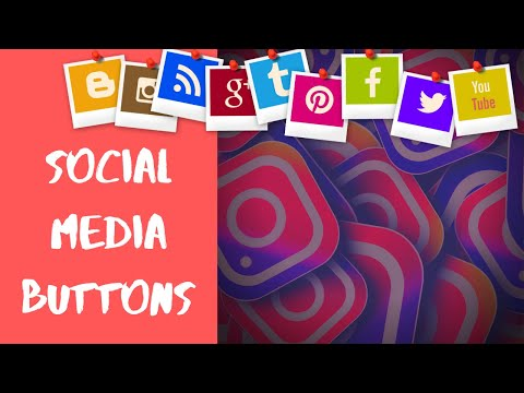CREATE SOCIAL MEDIA BUTTONS WITH AWESOME ANIMATIONS USING HTML AND CSS