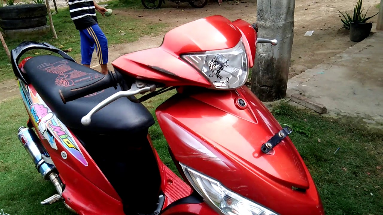 Kumpulan 85 Modifikasi Motor Mio J Warna Merah Terkeren Dinding