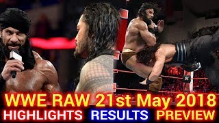 Trending Now WWE Monday Night Raw 21st May 2018 Hindi Highlights Pr...