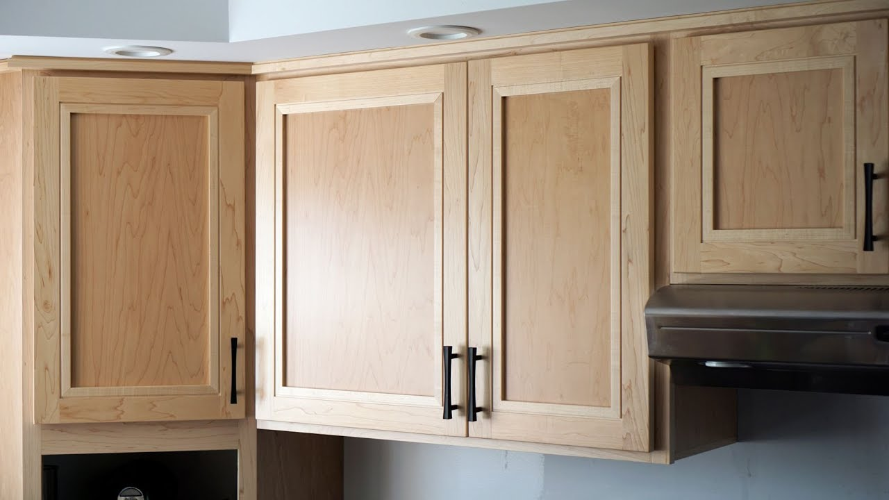 Build Kitchen Cabinets Chicken Rugs How To Make Great Looking Cabinet Doors Youtube