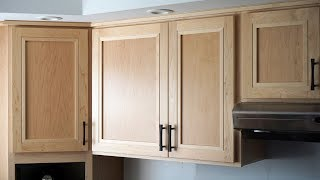 How to Make Great Looking Kitchen Cabinet Doors