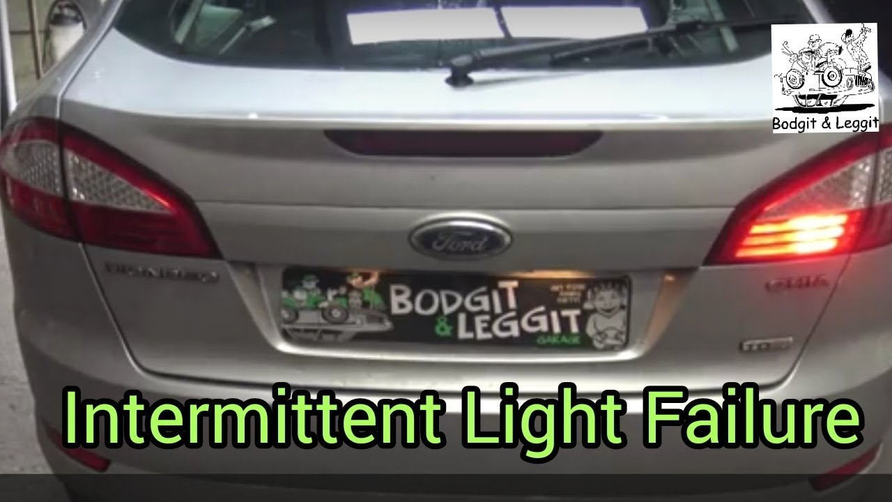 Ford Mondeo Back Lights Not Working Sometimes Intermittent Bodgit And Leggit Garage