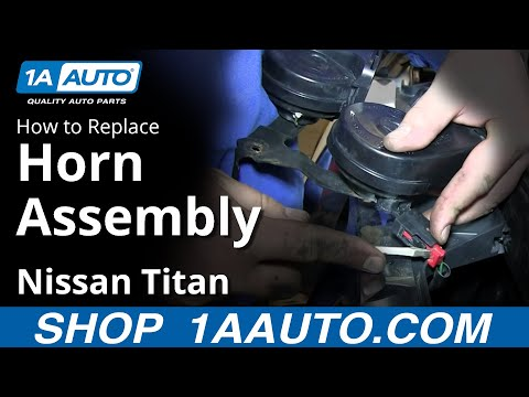 Nissan Note Steering Wheel Horn Airbag Module Removal