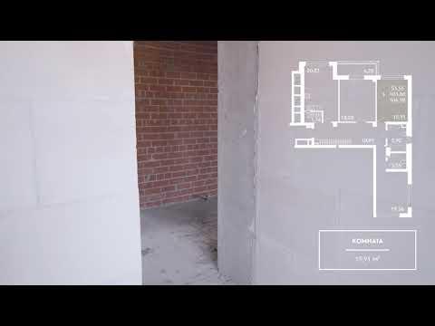 Компаунд «Проспект Мира» / Трёхкомнатная квартира 107 кв. м. / Дом 2