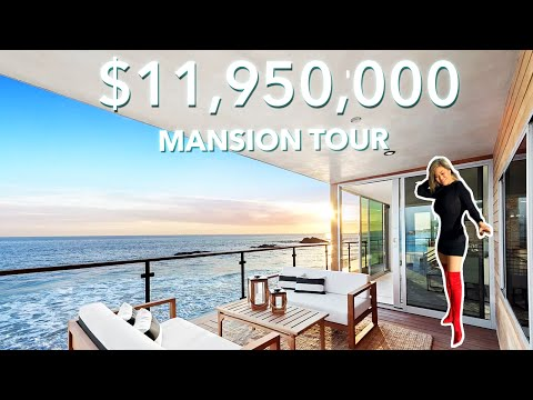 OCEAN-VIEW $11,950,000 MANSION TOUR | Malibu