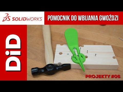 SW08. Pomocnik do wbijania gwoździ / Nail holder