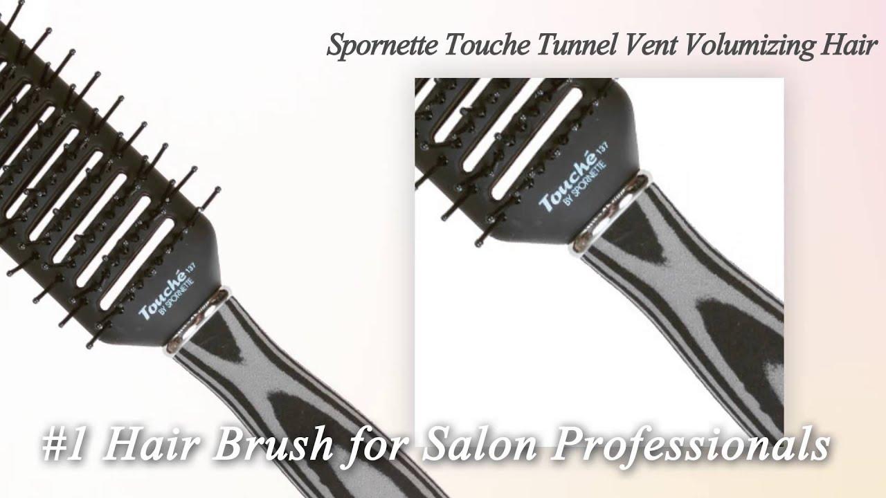 Spornette Touche Tunnel Vent Volumizing Hair Brush 137