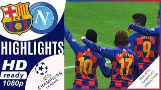 Full match barcelona vs napoli 3-1   resumen highlights champions league 2020, 3 lyon 1 uefa 08/08/2020 ucl season 2020 barcel...