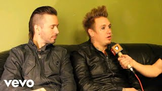 Papa Roach - Toazted Interview 2013 (part 3)