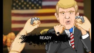 Beating the crap out of Donald Trump