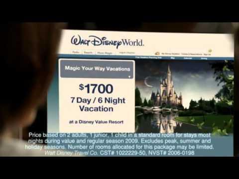 MaryCharles Jones  Disney Parks Commercial 2008