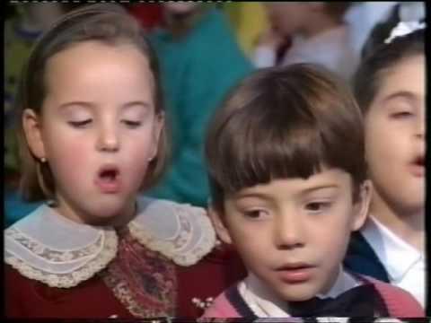 Colegio Santa Ana De Monzón, festival de Navidad 1990