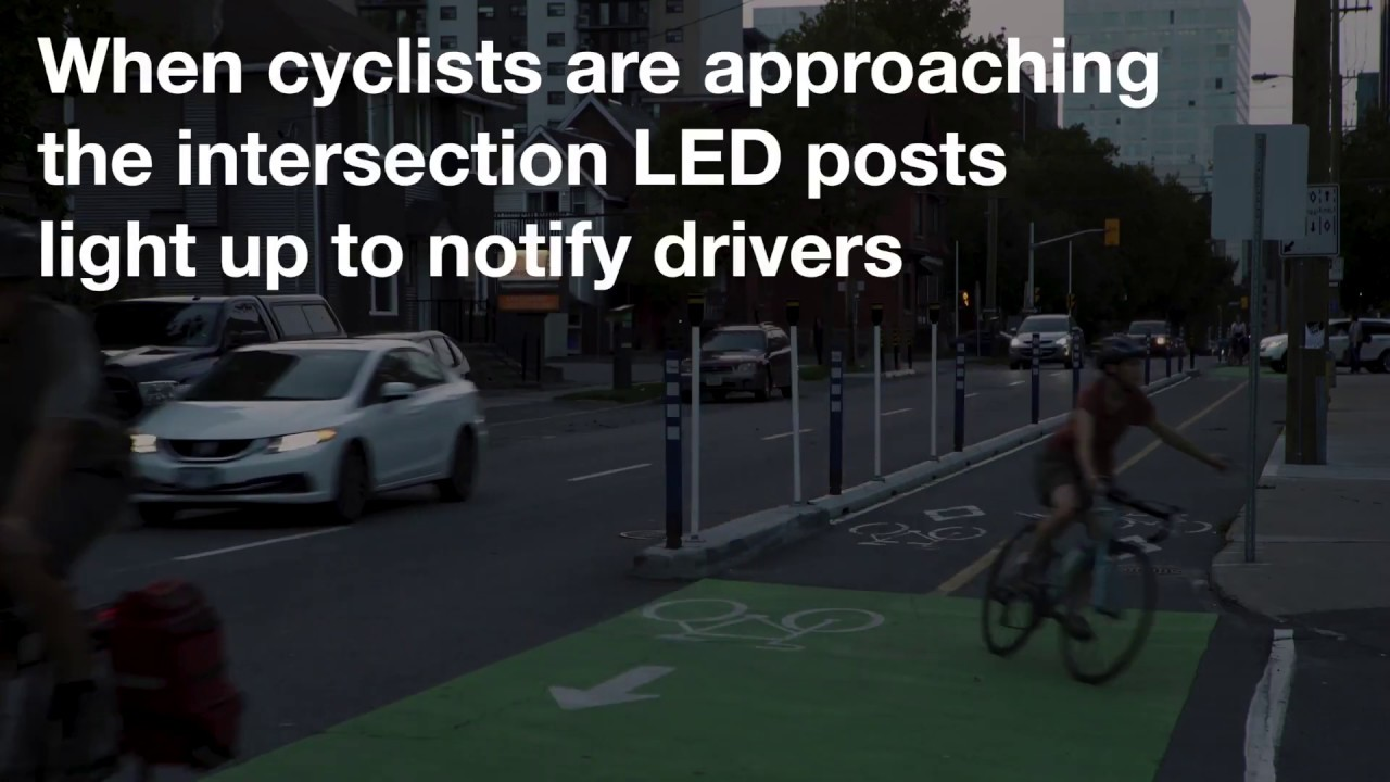 Bike Lane Advanced Warning Systems