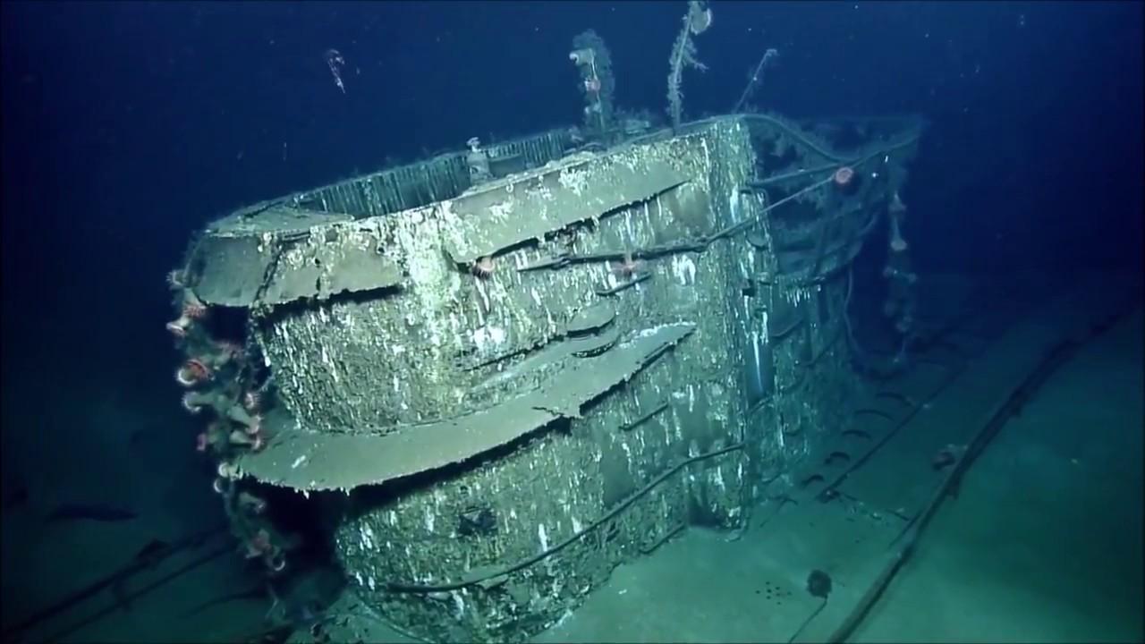 Visiting U-boat U-166 - YouTube