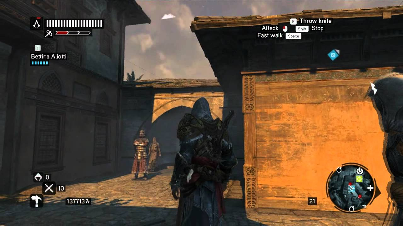 Assassin S Creed Revelations Master Assassin The Deacon Part 1