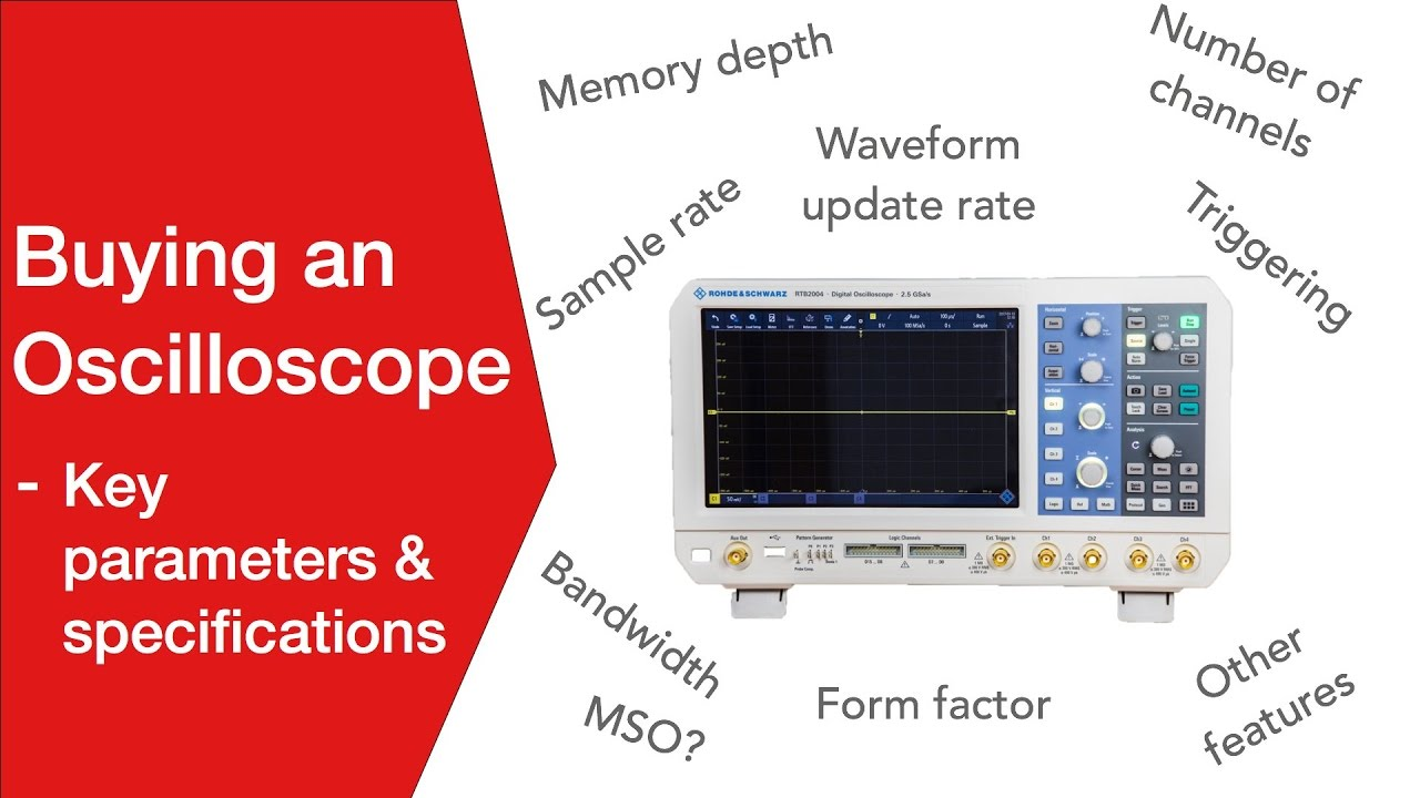 Oscilloscope Specifications | Buying a Scope | Electronics Notes