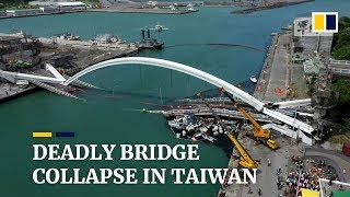 Bridge collapse in Taiwan kills at least 5 foreign fishermen