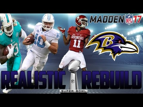 Madden 17 Connected Franchise | Realistic Rebuild: Baltimore Ravens | Is Mitch Trubisky ELITE?!