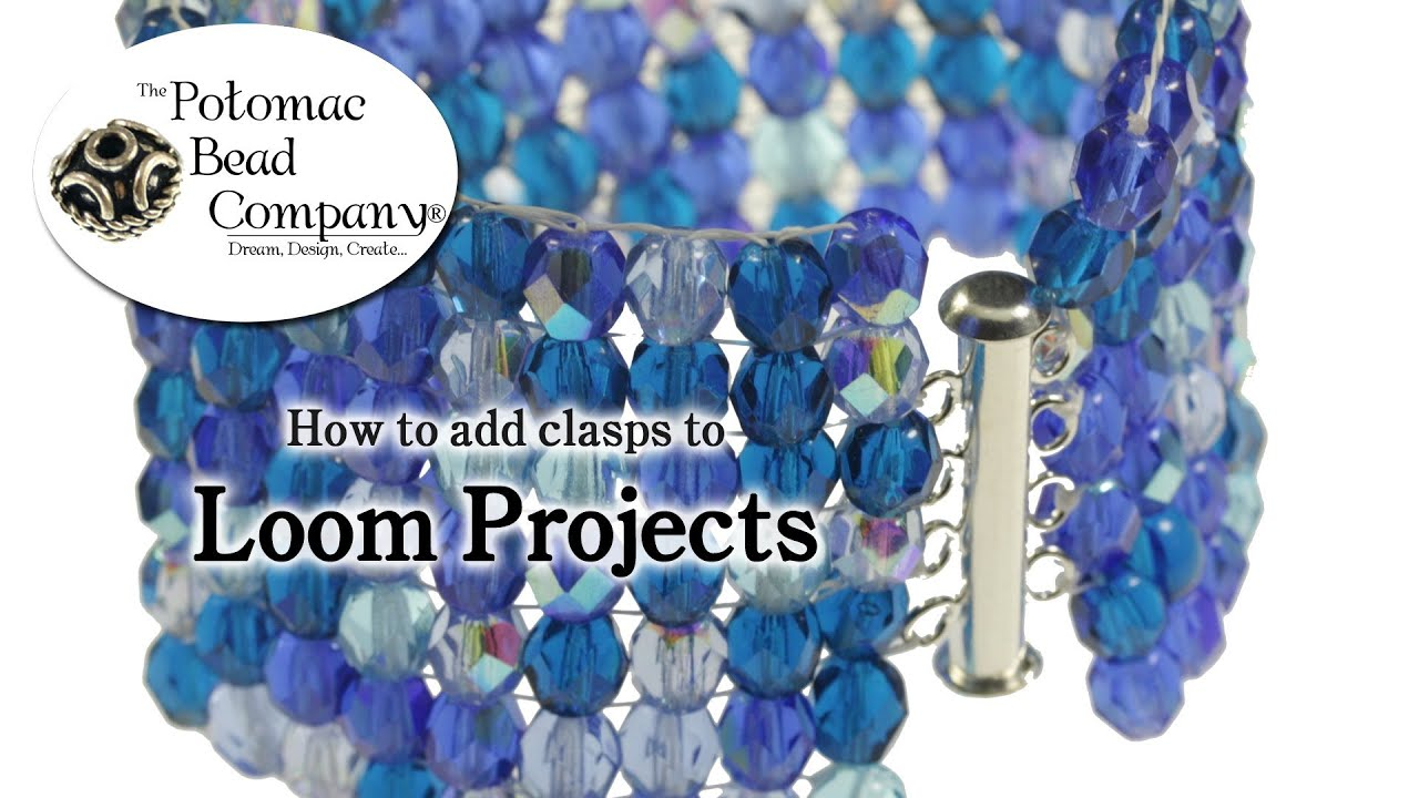 How to add clasps to loom projects youtube baditri Images