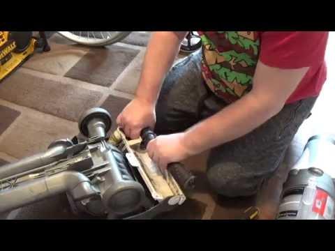 Part 1  Dyson DC07 strip down & cleanout