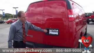 Phillips Chevrolet - 2014 Chevy Express Cargo Van - Walkaround - Chicago New Car Dealership