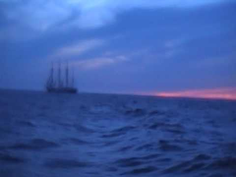 Passing the Sedov on open sea