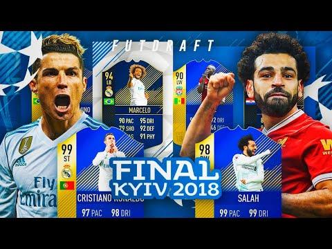 FUT DRAFT FINAL CHAMPIONS LEAGUE!! | REAL MADRID VS LIVERPOOL EN FUT DRAFT!! | FIFA 18
