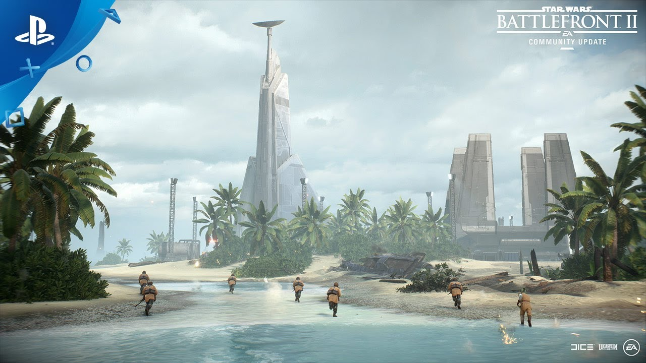 Star Wars Battlefront 2: The Battle on Scarif - Community Update   PS4 thumbnail