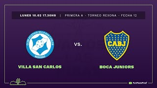 Villa San Carlos 0 - 8 Boca | #VamosLasPibas | Fútbol femenino