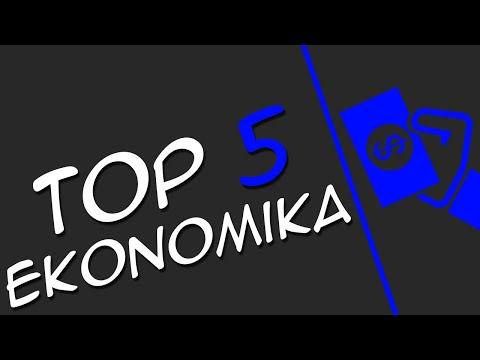 TOP 5 Economy Pluginů