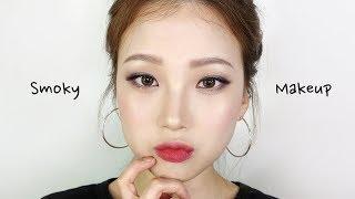 분위기 있는 세미 스모키 메이크업 Smoky Makeup / 쌍꺼풀 테이프 붙이는법 / 성형메이크업┃소정 Sojeong