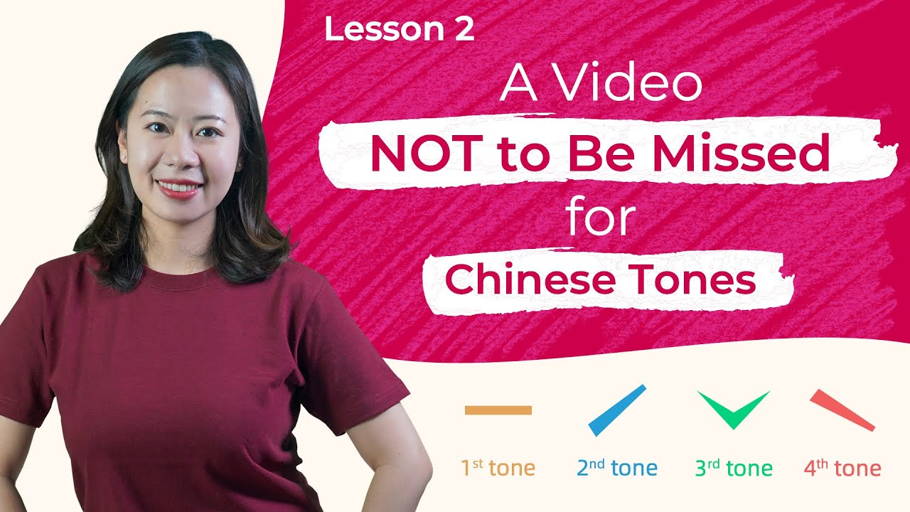 Master Chinese Tones with Ease! You Can Do It! - Pinyin Lesson 2 - Learn Chinese Pronunciation
