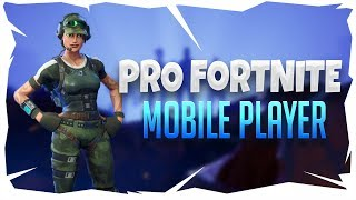 🔴 PRO FORTNITE MOBILE PLAYER | TIPS AND TRICKS ON HOW TO GET BETTER