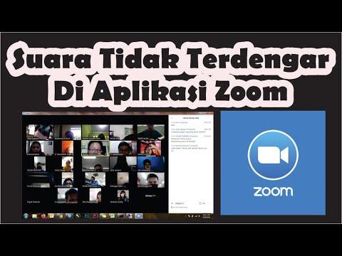 tutorial cara mengatasi aplikasi zoom meeting yang tidak keluar suara di laptop