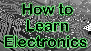 Question  - How to Learn Electronic Engineering Without Going to College
