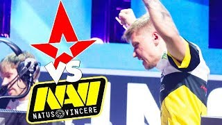 #1 Player In The World Vs #1 Team In The World! NaVi Vs Astralis ESL One Cologne 2018 [English1080p]