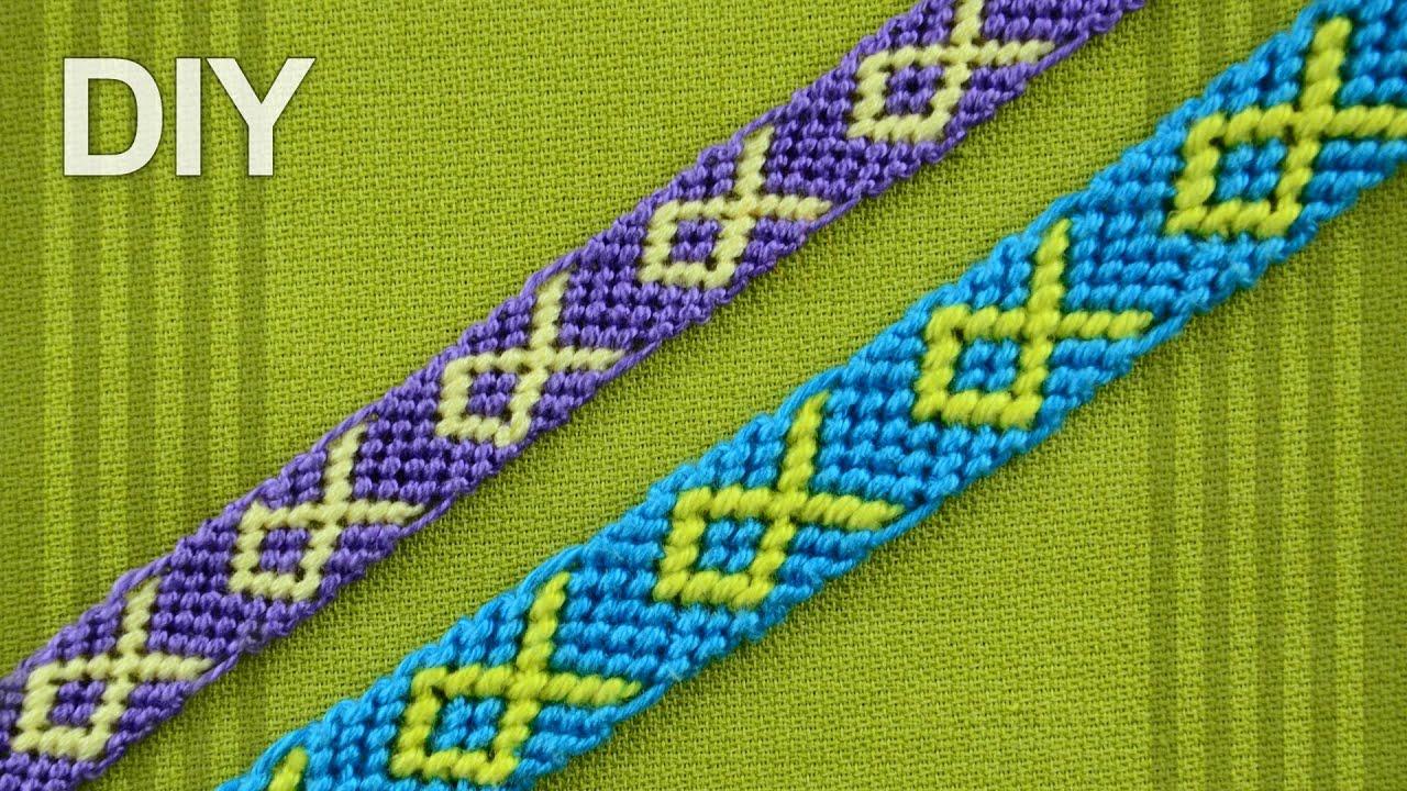 7787e2fe49b95 How to make a Macrame Bracelet with Fish symbol