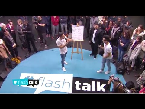 Odah & Dako - L'impro freestyle face à O.Besancenot ! #flashtalk