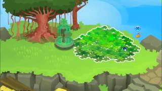 Animal Jam: Speed decorating - Sky Kingdom